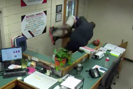 2 ex-officers charged after video shows them slamming middle school student – CBS News