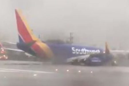 Southwest Airlines flight rolls off runway at California airport – Fox News