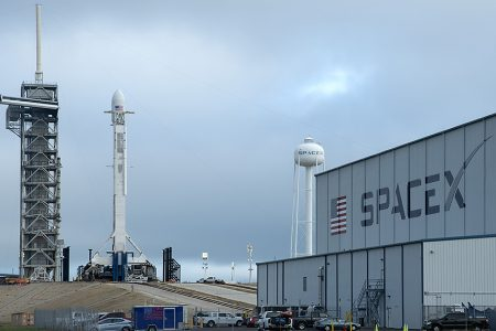 SpaceX scraps launch of military satellite after strong winds | TheHill – The Hill