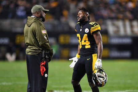 Mike Tomlin Does Damage Control After Antonio Brown's Absence – The New York Times