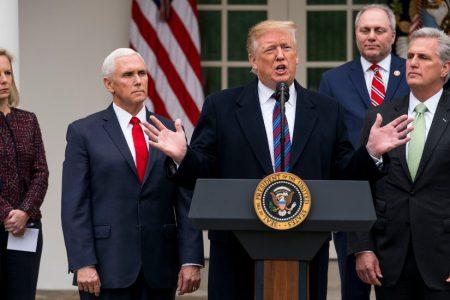 The Shutdown, According to Trump – The New York Times