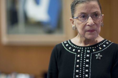 Supreme Court Justice Ruth Bader Ginsburg working from home for first arguments since cancer surgery – CNBC