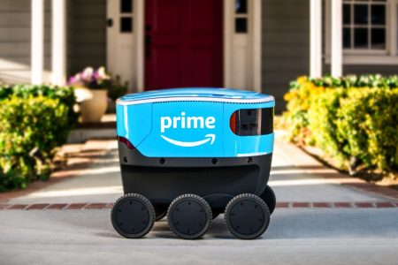 Amazon debuts its adorable delivery robot called Scout – CNBC