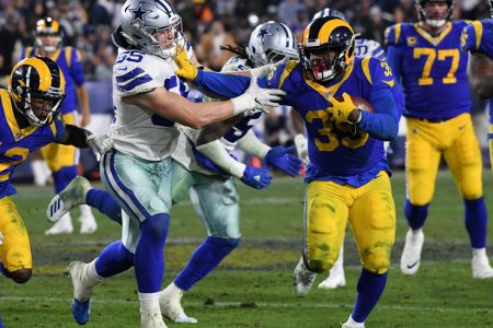 Rams Land a Devastating 1-2 Punch in the N.F.L. Playoffs – The New York Times