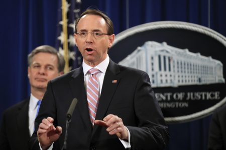 Rosenstein expected to step down after new attorney general's confirmation – POLITICO