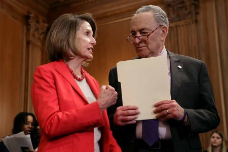 'Only with Nancy': How Schumer and Pelosi stuck together on the shutdown – POLITICO