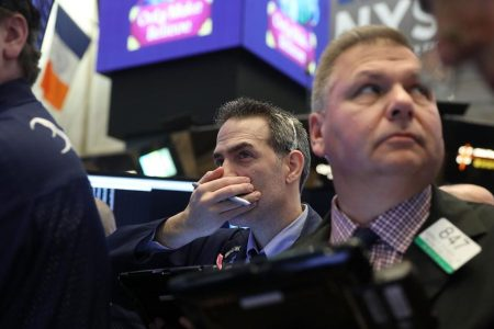 Dow falls 300 points on weak economic outlook – CNN