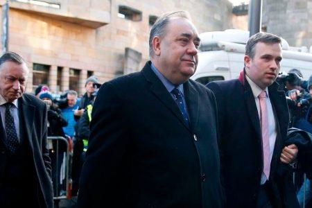 Scotland's former First Minister Alex Salmond arrested – CNN