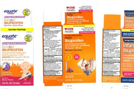 Recall of infant liquid ibuprofen sold at CVS, Walmart expands over safety worries – NBCNews.com