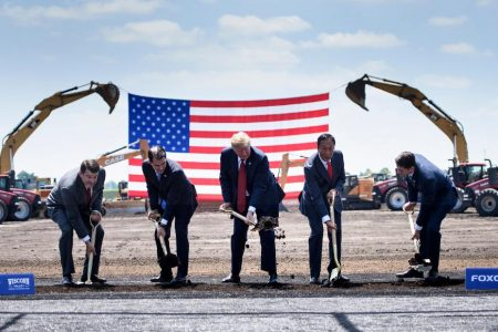 Foxconn may drop plans to build flat screens in Wisconsin – CNN