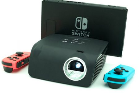 Nintendo Switch enthusiasts will love this mini projector that's on sale – Mashable