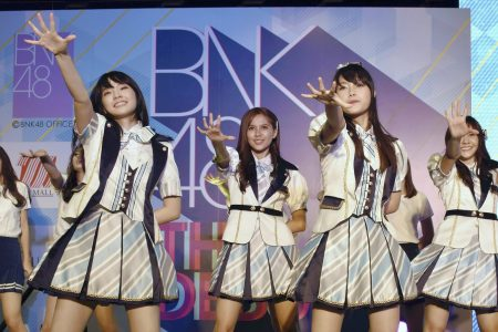 Singer in Thai girl band apologizes for swastika shirt – The Associated Press
