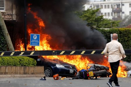 Explosions and gunfire heard in Kenyan capital Nairobi – Aljazeera.com