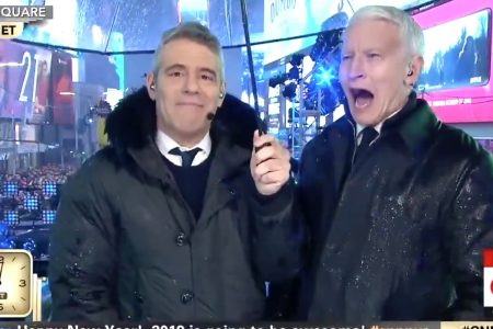 Anderson Cooper Loses It While Taking Shots On Air: 'Like Burning Your Lungs!' – HuffPost