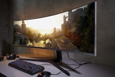 Samsung's massive 49-inch super-wide monitor got an upgrade that will make video games look incredible — if your PC can handle it – Business Insider