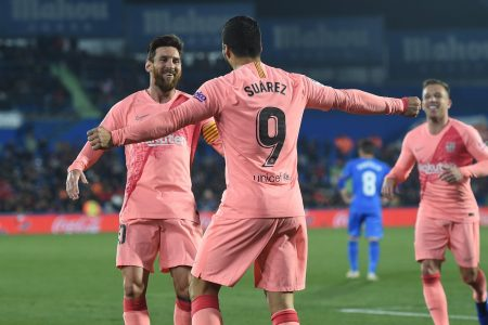 A party-popping Messi pass and a Suárez rocket that has to be seen to be believed, FC Barcelona starts its new year with a bang – Business Insider