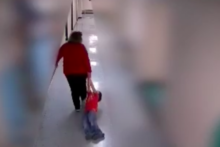 Video Shows Kentucky Teacher Dragging 9-Year-Old With Autism Through School – HuffPost