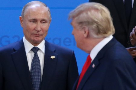 Trump Concealed Details Of Putin Meetings From Administration Officials: Report – HuffPost