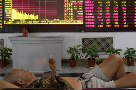 Stocks are falling after a fresh set of horrible data out of China reignited worries about the global economy – Business Insider