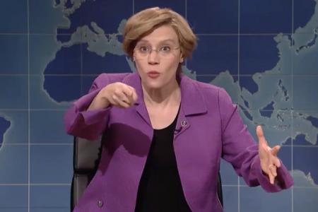 Kate McKinnon's Elizabeth Warren Is The Prostate Exam America Needs On 'SNL' – HuffPost