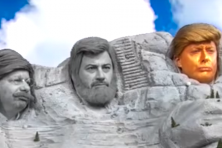 Jimmy Kimmel Adds Donald 'Jesus' Trump To Mount Rushmore For Worst Possible Reasons – HuffPost