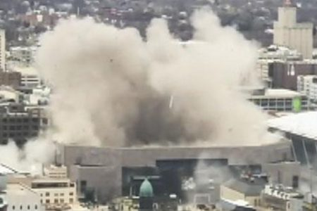 Bradley Center, former home of the Milwaukee Bucks, demolished using 'shape charges' – Fox News