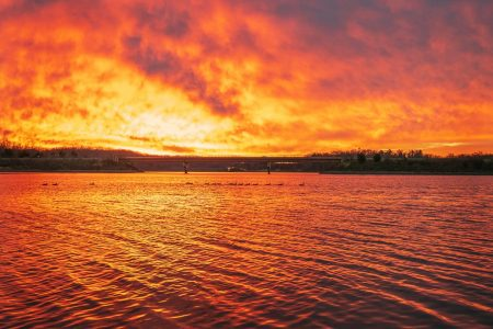 Photos: Beautiful sunrise kicks off wintry work week in Washington – Washington Post