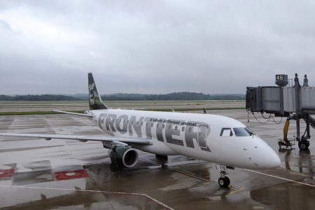 Passengers fall ill on Frontier Airlines flight from Cleveland to Tampa – CBS News