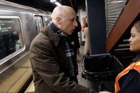 It's Not Easy Being Andy Byford When Your Job Is to Save the NYC Subway – The Wall Street Journal