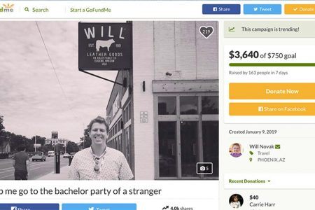 Man raises thousands to attend stranger's bachelor party after typo gets him invite by mistake – Fox News