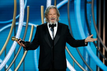 'Tag, you're it!' Here's a full transcript of Jeff Bridges's wacky Golden Globes speech – The Washington Post