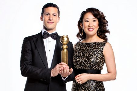 Golden Globes 2019 hosts Andy Samberg and Sandra Oh reveal how much political humor will be in the show – Fox News