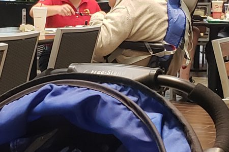 Heartwarming moment Chick-fil-A employee helps, feeds disabled man in mall food court – Fox News