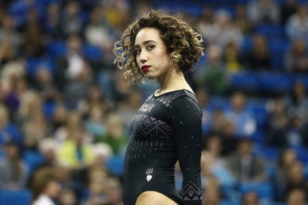 Katelyn Ohashi's gymnastic moves are killer. So please stop talking about her lady parts. – The Washington Post