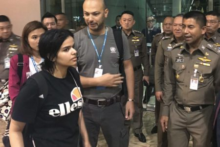 Thailand Met With Saudi Officials Over Woman's Asylum Case – TIME