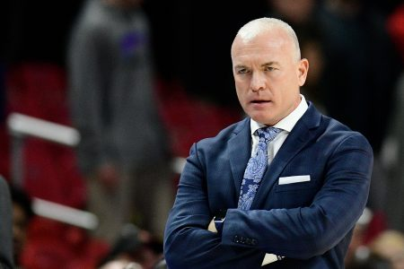Penn State basketball coach Patrick Chambers suspended 1 game for shoving player – USA TODAY