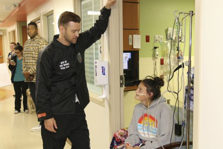 Justin Timberlake visits Texas children's hospital after 'Can't Stop the Feeling' video goes viral – Fox News