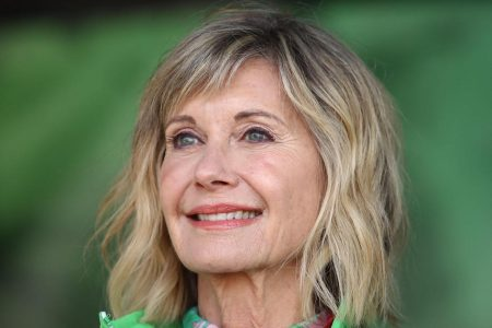 """Olivia Newton-John says rumors about her health have been """"greatly exaggerated"""" – CBS News"""