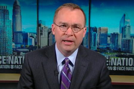 Mulvaney says Trump is willing to shut down the government again – CBS News