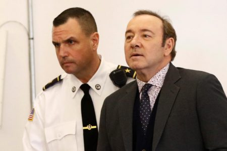 Kevin Spacey's lawyers enter not-guilty plea, question allegation of sex assault at Nantucket bar – CBS News