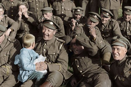 'They Shall Not Grow Old' Review: World War I, in Living Color – The New York Times