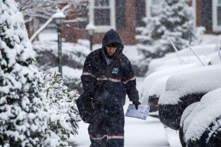 USPS suspends delivery in several states affected by the polar vortex – CBS News