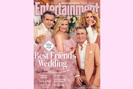 My Best Friend's Wedding cast reunites for EW's romantic comedy issue – Entertainment Weekly News