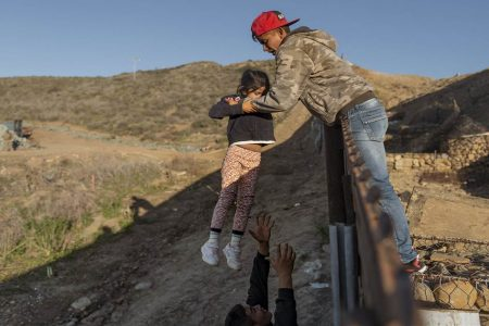 Trump says San Diego's border barrier works, but it pushes migrants to more dangerous areas – NBC News