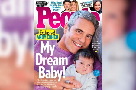 Meet Andy Cohen's new son – CNN