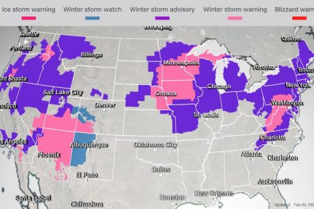 Winter weather grips the US: Live updates – CNN