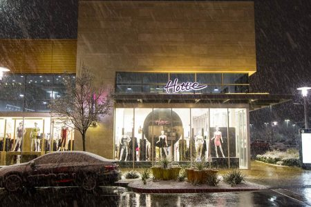 Snow falls in Las Vegas for the second time in a week – NBC News