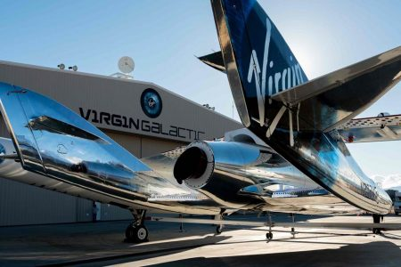 Virgin Galactic space plane takes first test passenger into space – NBCNews.com