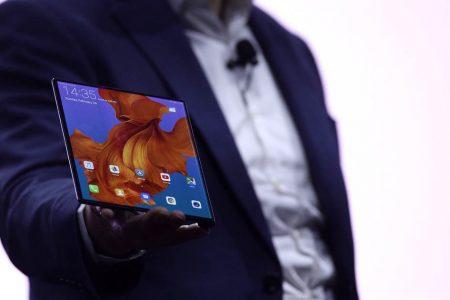 China's Huawei unveils 5G phone with folding screen – NBCNews.com