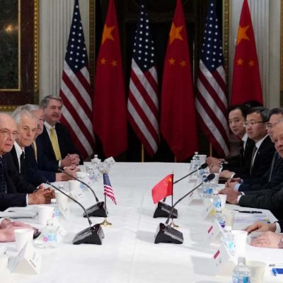 US ditches China tariff hike 'until further notice' – CNN